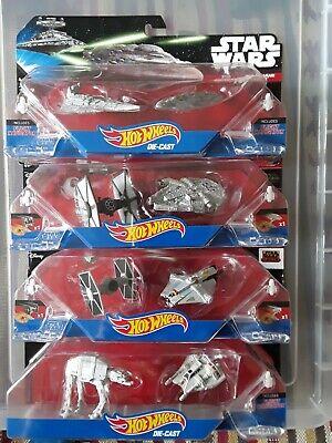 Hot Wheels Star Wars  starships x8