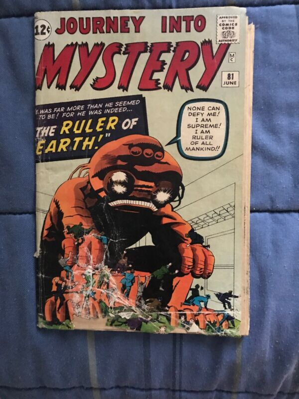 journey into mystery 81