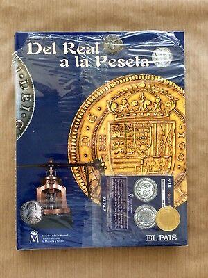 Del Real A La Peseta Fabrica Nacional Moneda Y Timbre Baño Monedas Oro Y Plata segunda mano  Embacar hacia Mexico