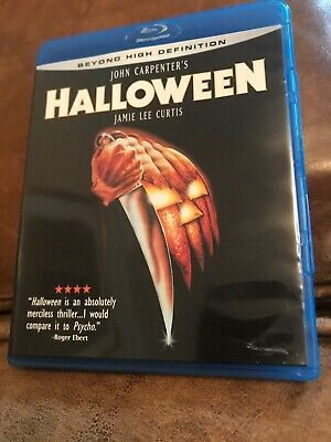 HALLOWEEN BLU-RAY, John Carpenter,Jamie Lee Curtis 1978 ()