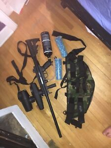 Tippmann A5 Paintball gun kit