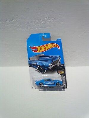 Hot wheels night burnerz 70 chev chevelle 7/10 die cast toy blue