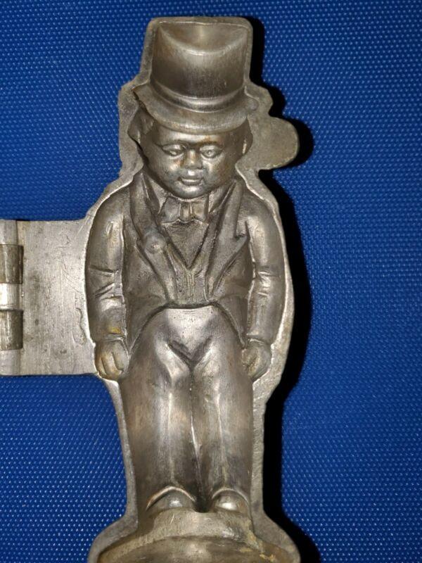 General Tom Thumb Barnum & Bailey Circus Pewter Ice Cream Mold E & Co NY # 1149