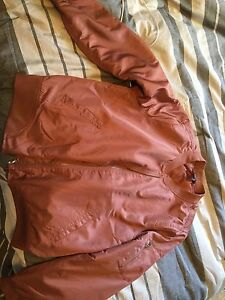 Forever 21 plus size bomber jacket pink 3X brand new