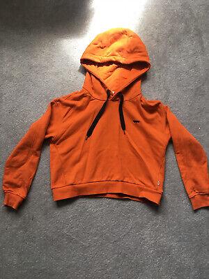 Vans Cropped Hoodie S Orange