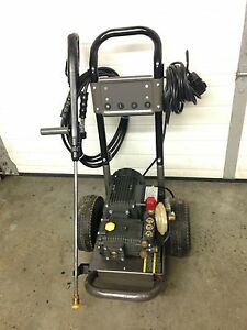 New pressure washer