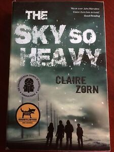 The Sky So Heavy  by Claire Zorn - New Never Used/Read.... Rouse Hill The Hills District Preview