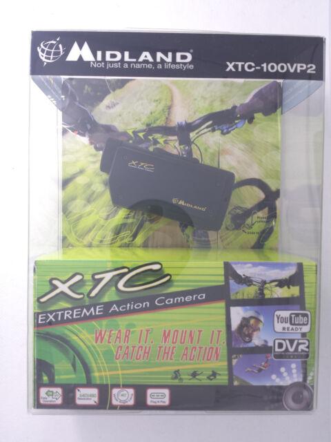 Midland XTC-100VP2 Extreme Action Video Camera Camcorder w/4 Type Mounts NEW