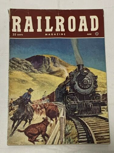 Vintage Railroad Magazine Lot 1949 to 1951