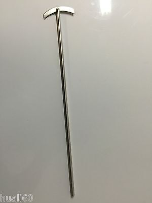 Lab Stainless Steel Mixer Stirrer 7mm Shaft 400mm Long New