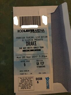 Drake ticket -Melbourne