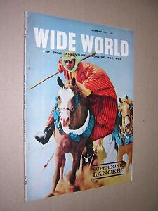 WIDE WORLD MAGAZINE FOR MEN.  No. 771. DECEMBER 1962.