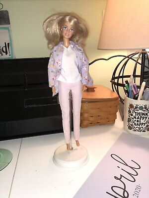 1999 Mattel Barbie Doll Doctor Dr. Barbie Coat, scrubs top & covid 19 (Coat Top Pants coronavirus)