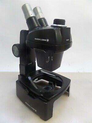 Bausch And Lomb 31-26-84 Trans-illuminator Microscope Base With 1x-2.5x Head