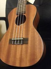 Brand new concert Kia Kaha ukulele mahogany top hard case tuner strap Tuart Hill Stirling Area Preview