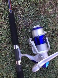 Silstar powertip combo with shakespeare 5500 reel all unused Camp Hill Brisbane South East Preview
