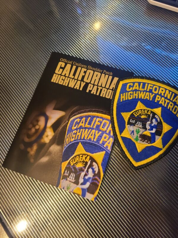 California Highway Patrol CHP Patch and Story.