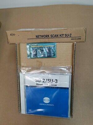 Konica Minolta Bizhub 350 250 200 Network Scan Kit Su-2 4514-612