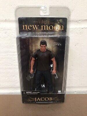 "NECA THE TWILIGHT SAGA NEW MOON JACOB (BLACK TOP) 7"" ACTION FIGURE - NEW SEALED"