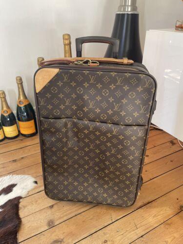 Valise cabine bag sac louis vuitton pegase 55  monogram