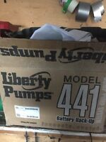 Emergency sump pump system - liberty pumps 441 back up