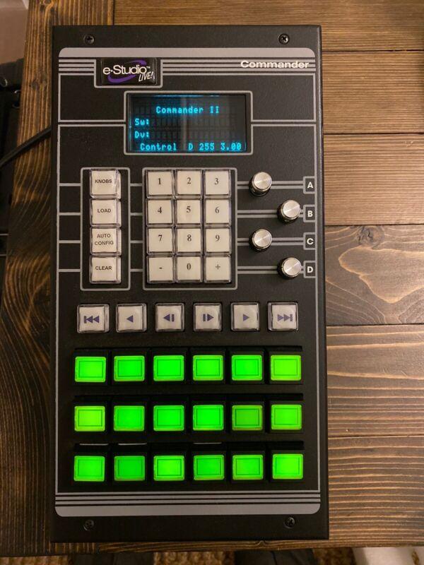 Echolab DVS E-Studio Live Video Switcher Commander