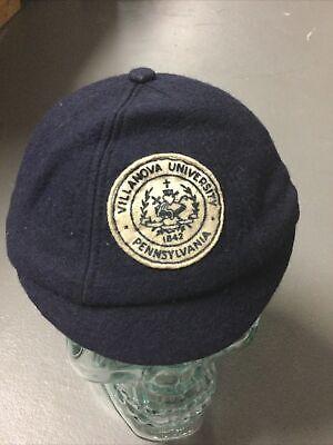 1950s Hats: Pillbox, Fascinator, Wedding, Sun Hats Vintage 1940's 1950's Villanova University Beanie Hat $60.00 AT vintagedancer.com