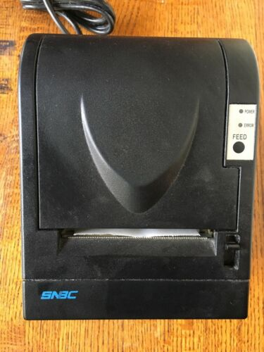 SNBC BTP 2002NP Thermal POS Receipt Printer Serial w Power Cord