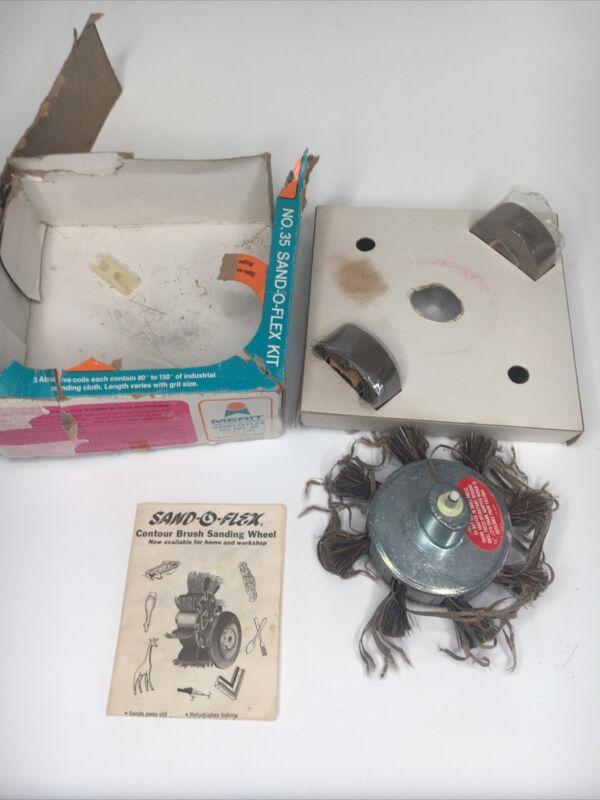 Vintage Merit Abrasive Products SAND-O-FLEX Kit No 35