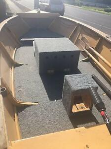 Boat, trailer and motor Port Willunga Morphett Vale Area Preview