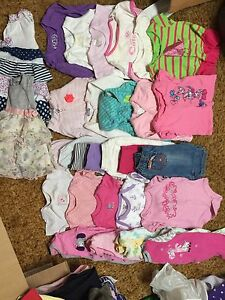 Mix lots baby girl clothes