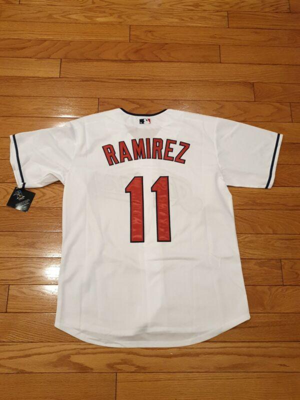 Cleveland Indians Jose Ramirez #11 white  large jersey gorgeous