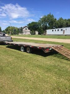 2008 24' pj deck over trailer