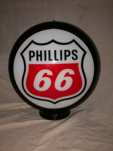 PHILLIPS 66 (RED LOGO) GAS PUMP GLOBE
