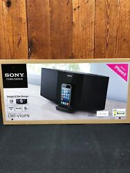 Sony CMTV10iPN Speaker Dock System with CD Play Back Radio - iPhone 5/iPod