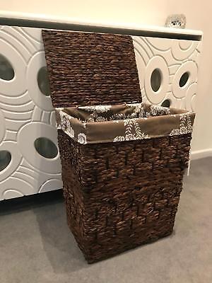 - Extra Large Laundry Basket Family Size Rattan Wicker Storage Washing Bin