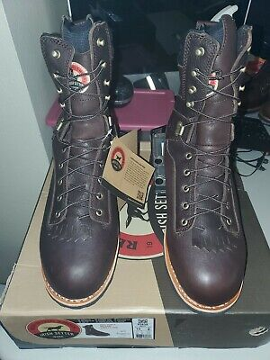 "Irish Setter Men's 83826 9"" Aluminum Toe Work Boot  size 10"