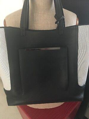 ab3001a23b97d Zara Handtasche Tasche schwarz groß Shopper Uni Schule Arbeit +  Kosmetiktasche gebraucht kaufen Aachen