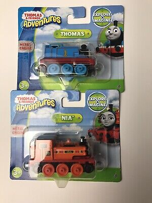 Nia &Thomas from Thomas The Train and Friends Adventures, Fisher-Price Tracks
