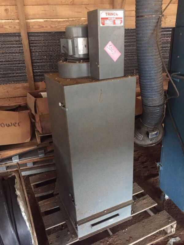 Trinco 400PT 1/2HP Dry Blast Dust Collector