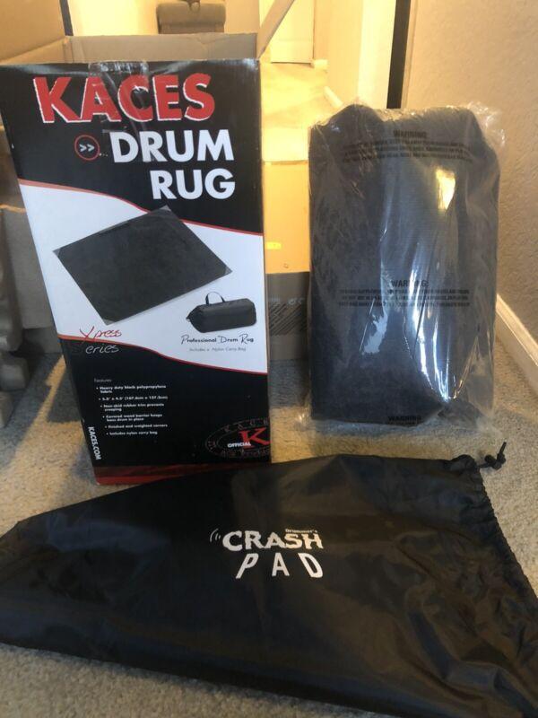 Kaces Crash Pad Drum Rug w/Carry Bag (KCP5)