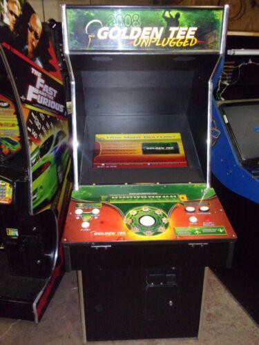 GOLDEN TEE 2008   ARCADE GAME  #V282