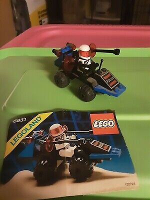 Lego space police , message decoder, set#6831, yr 1989, vintage