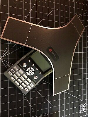 Clean Polycom Soundstation Ip 7000 Sip-based Ip Conference Phone- 2201-40000-001