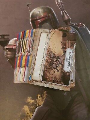 Star Wars Destiny - Common Set 57 Cards - Spirit of the Rebellion