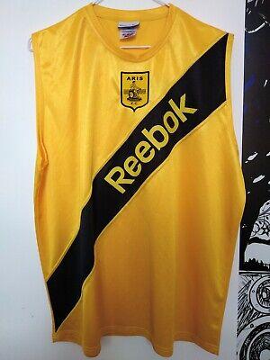 Rare Original Reebok Aris Thessaloniki FC Football Shirt Jersey Kit image