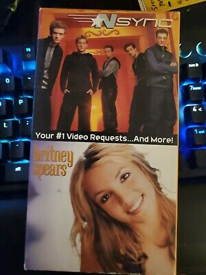 NSYNC/Britney Spears Your #1 Video Requests... & More Brand New Sealed 2000 VHS