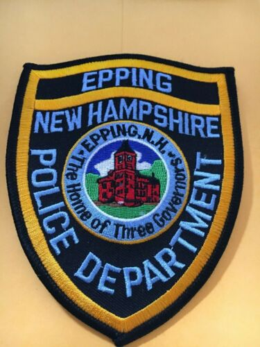 Epping New Hampshire Vintage Police Patch version 3