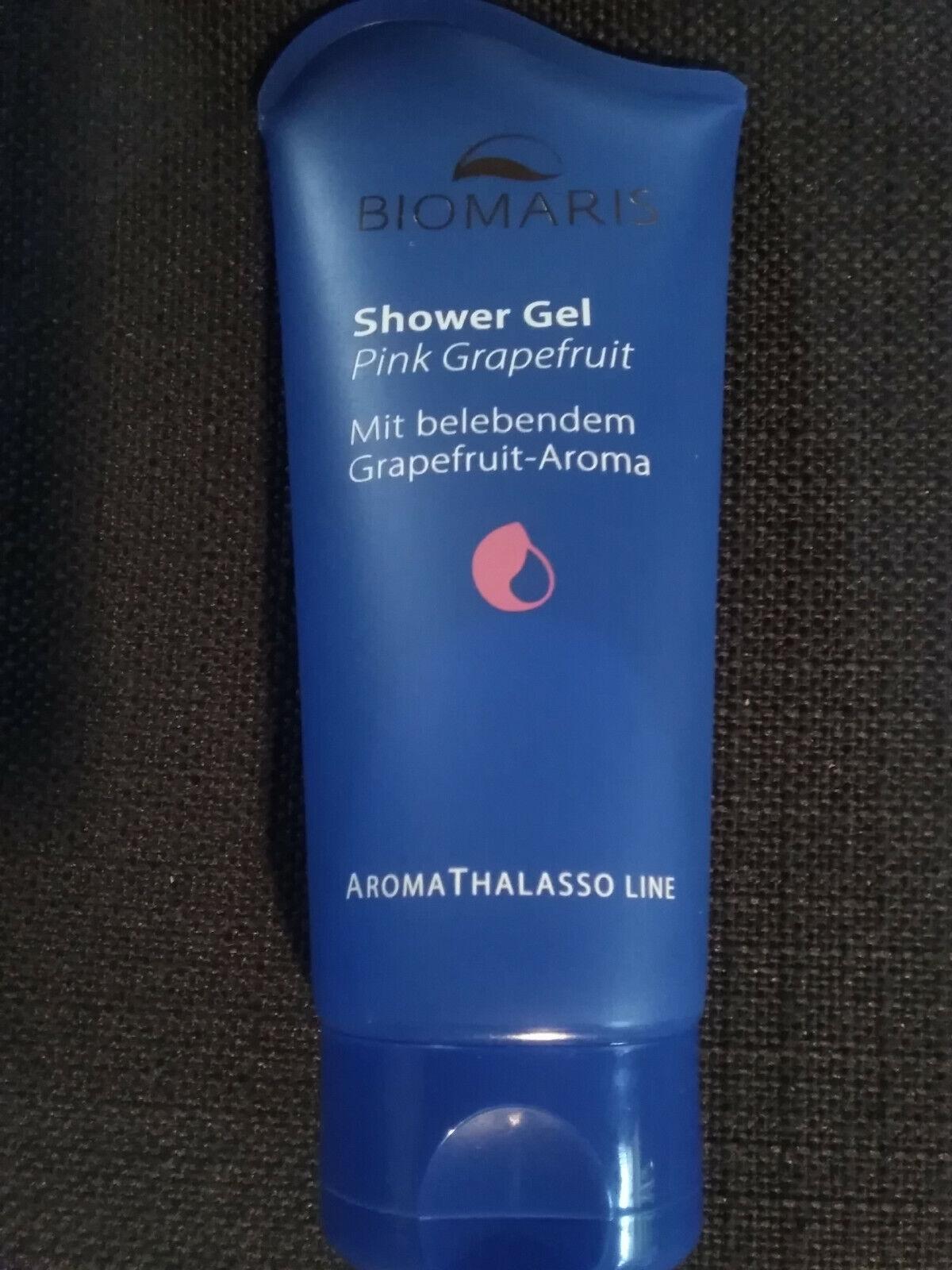 Biomaris Shower Gel, Duschgel, Aroma Thalasso Line, Pink Grapefruit, 200 ml