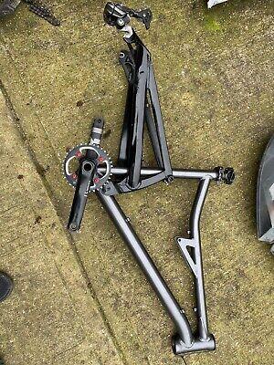 B-Twin Full Suspension Mountain Bike Frame